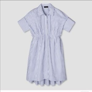 NWT Victoria Beckham for Target Striped Shirtdress
